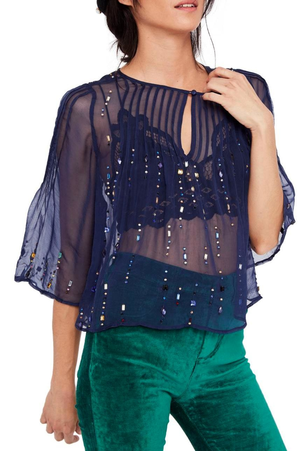 Free People Jewel Box Embellished - Front Cropped Image