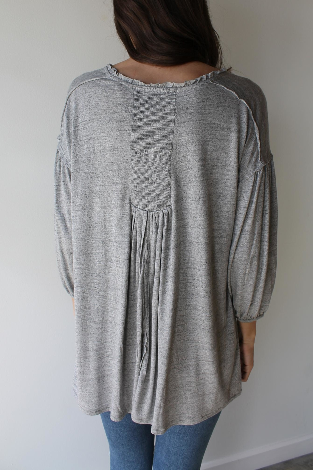 Free People Just A Henley - Side Cropped Image