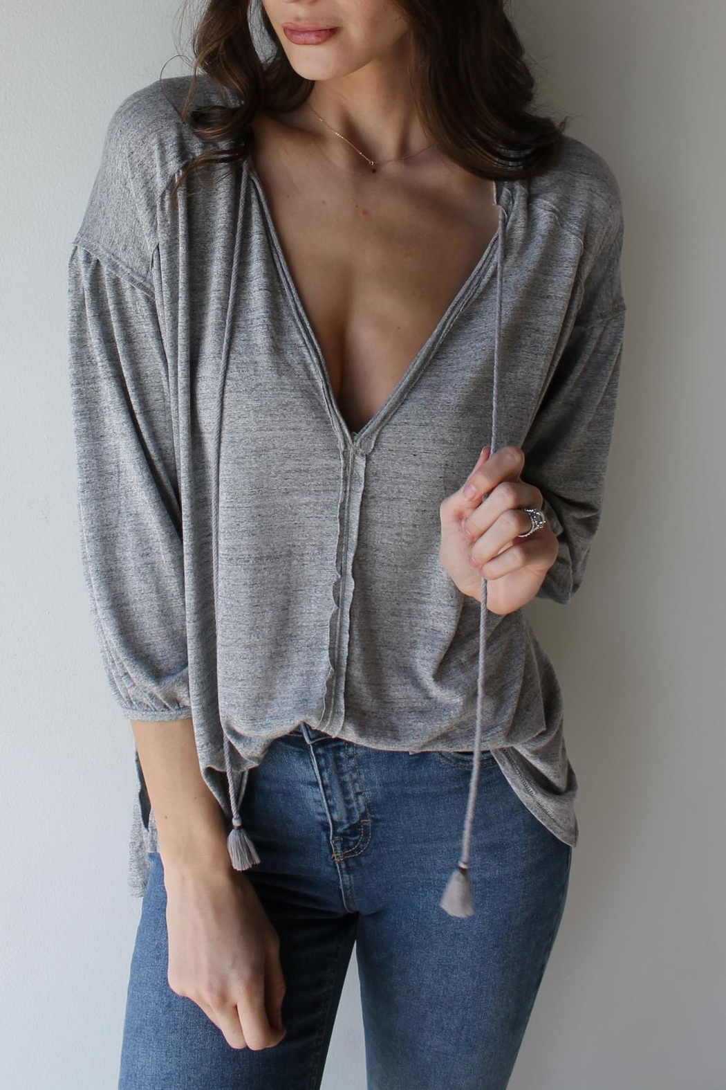 Free People Just A Henley - Main Image
