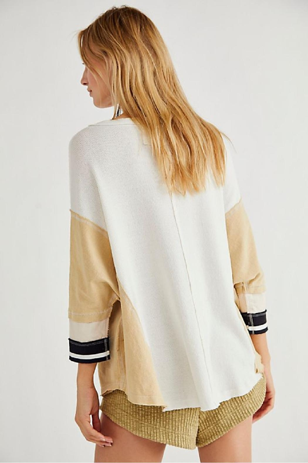 Free People Just Tip It Henley - Front Full Image