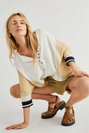 Free People Just Tip It Henley - Product Mini Image