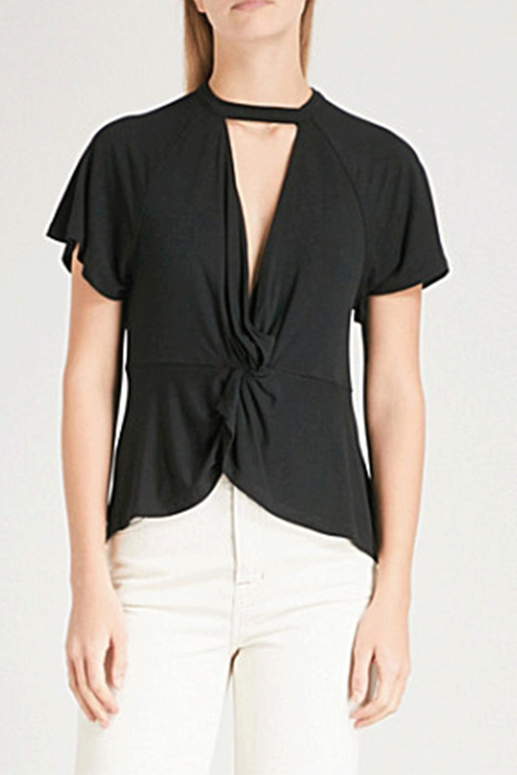 Free People Just Twist Tee - Front Cropped Image