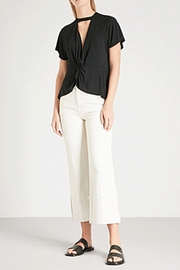 Free People Just Twist Tee - Front full body