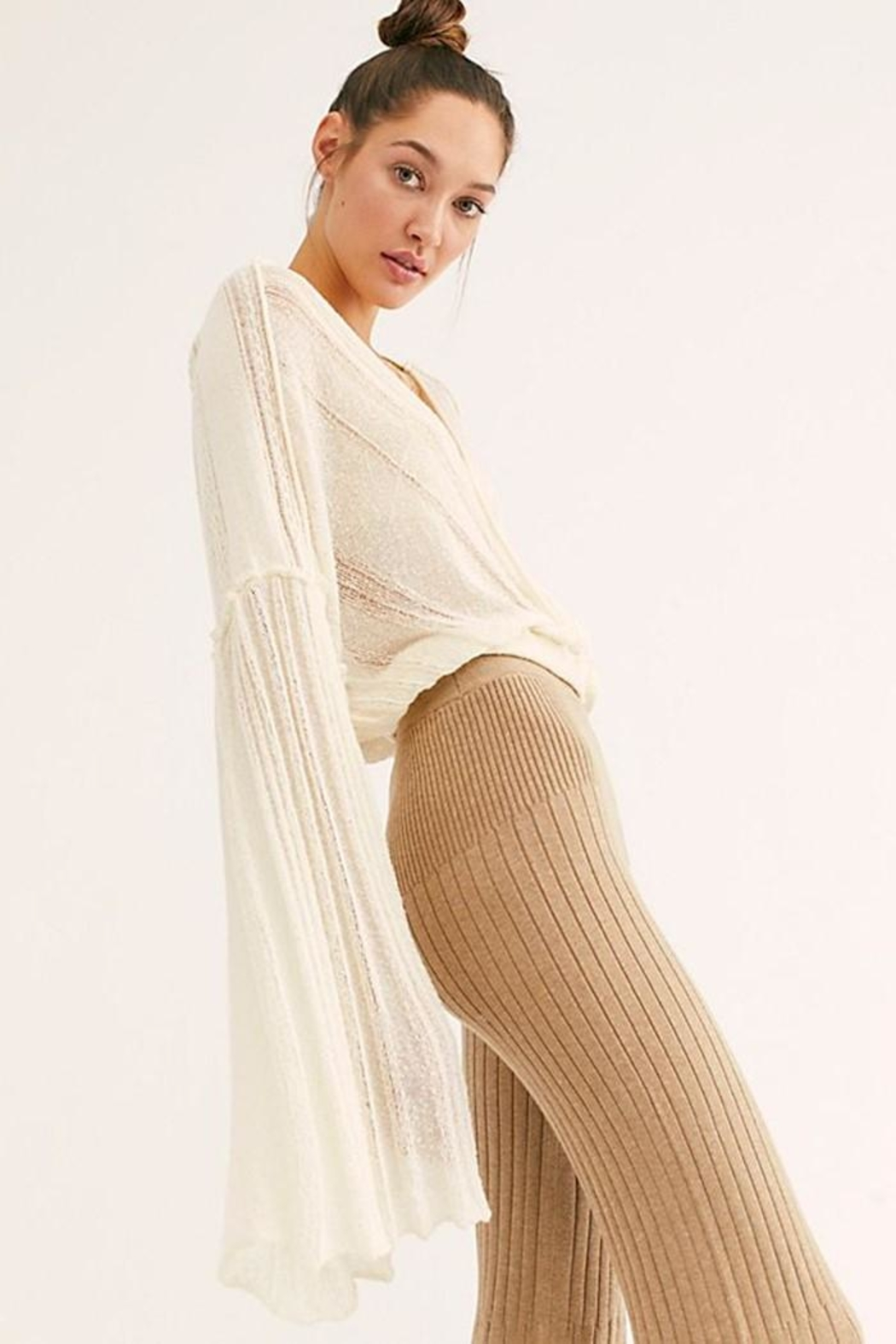 Free People Keep It Real - Back Cropped Image
