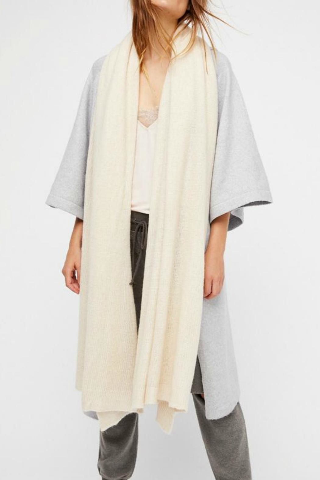 Free People Kennedy Knit Scarf - Front Cropped Image