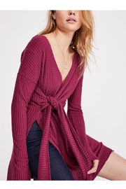 Free People Knit Wrapped Top - Product Mini Image
