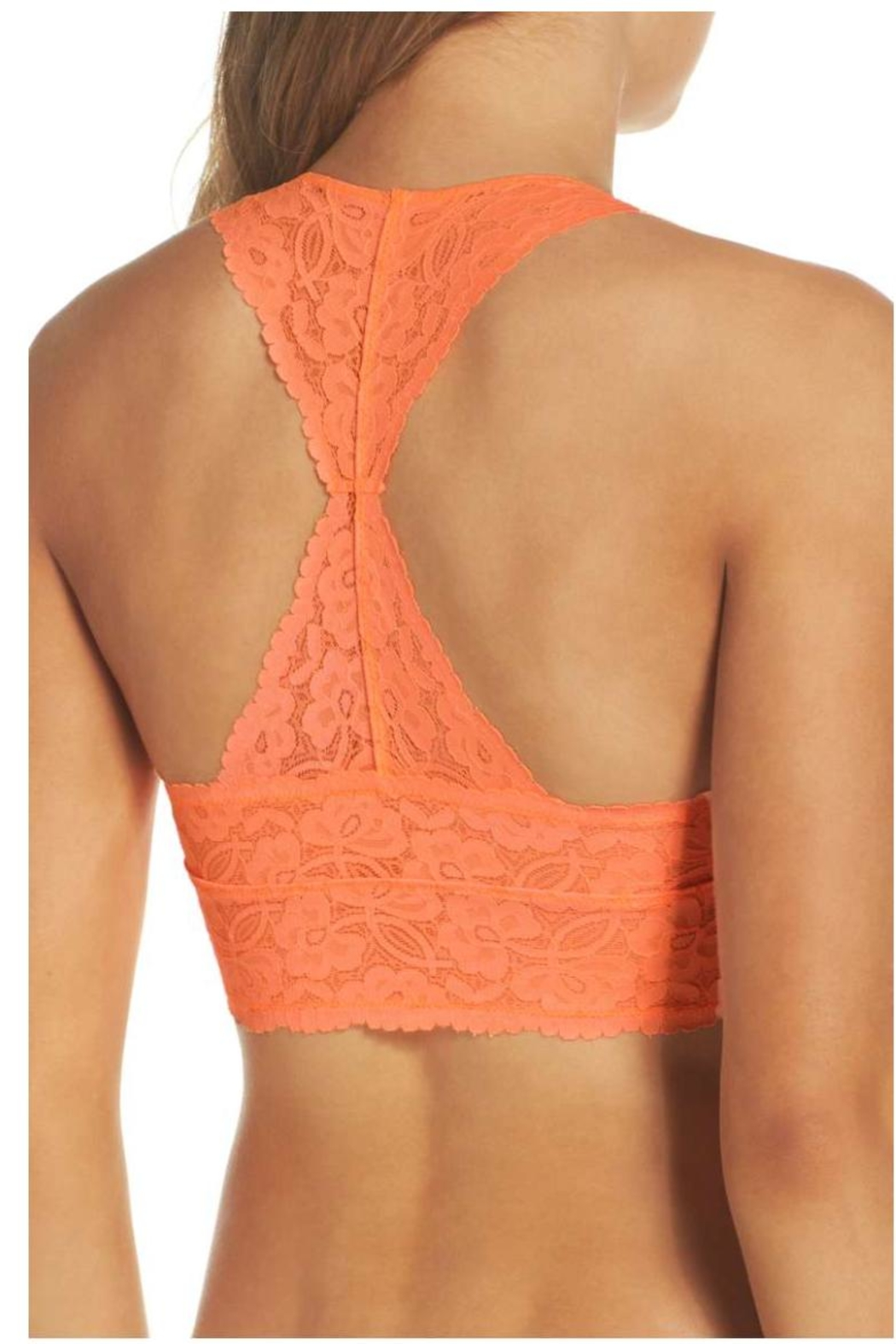Free People Lace Bralette - Front Full Image