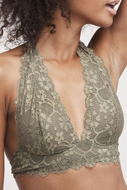 Free People Lace Halter Bralette - Product Mini Image