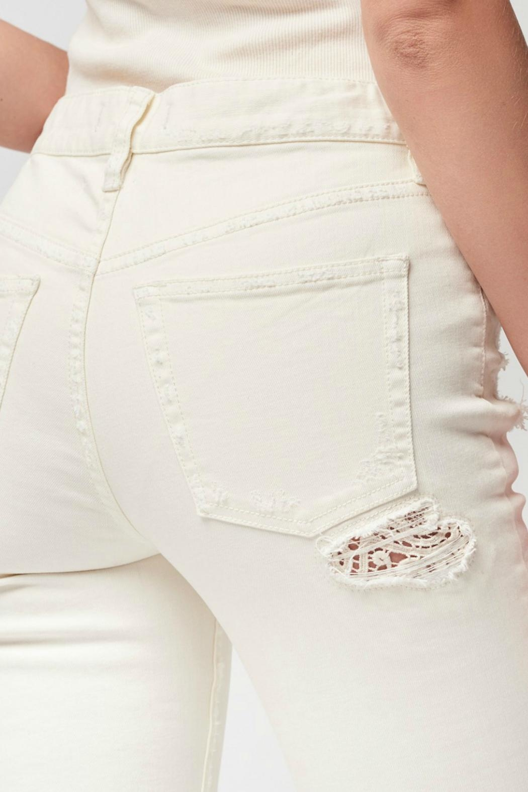 Free People Lacey Stilt Jeans - Side Cropped Image