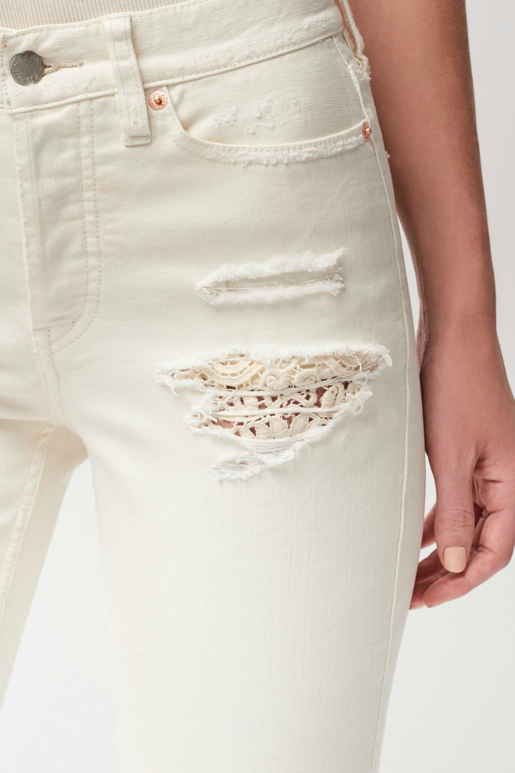 Free People Lacey Stilt Jeans - Front Full Image