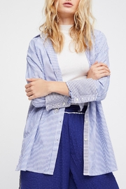 Free People Lakehouse Button Down Shirt - Product Mini Image