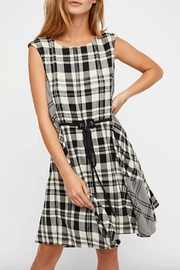 Free People Land Lines Dress - Front cropped