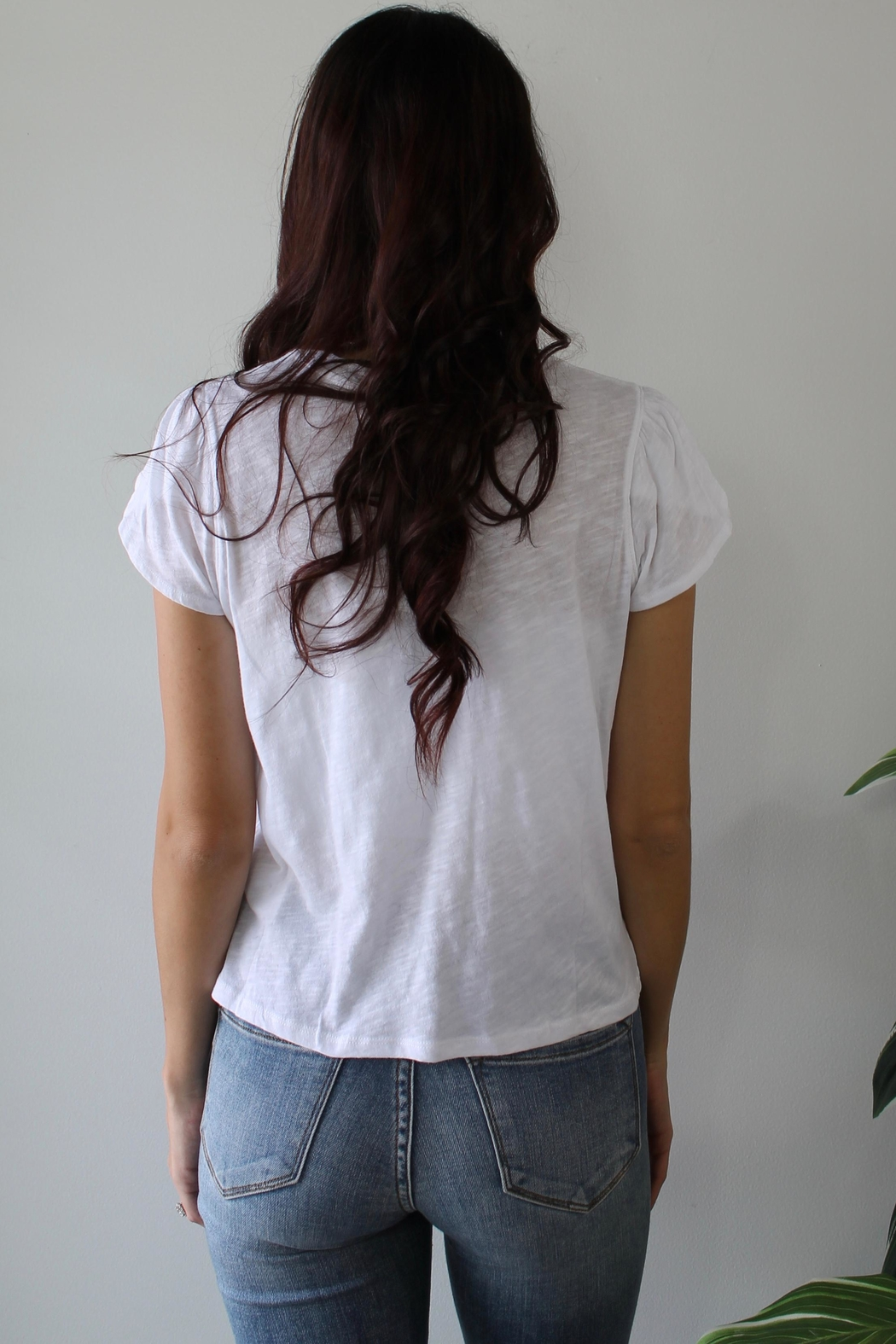 Free People Latte Tee - Front Full Image