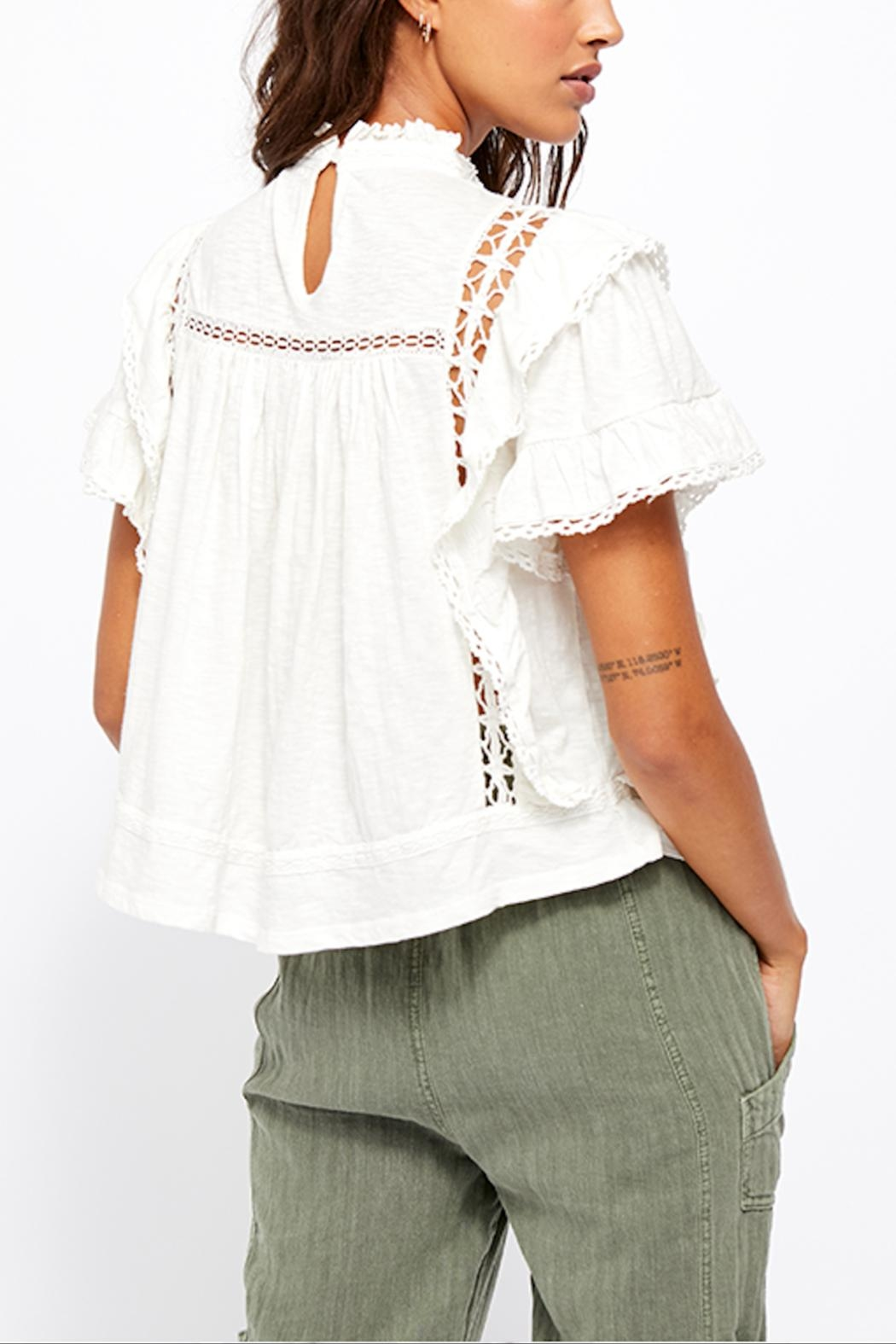 Free People Le Femme Tee - Back Cropped Image