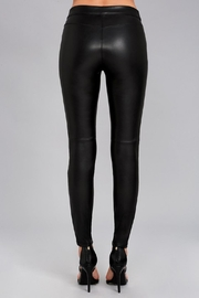 Free People Leatherette Legging - Back cropped