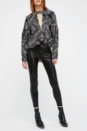 Free People Leatherette Legging - Product Mini Image