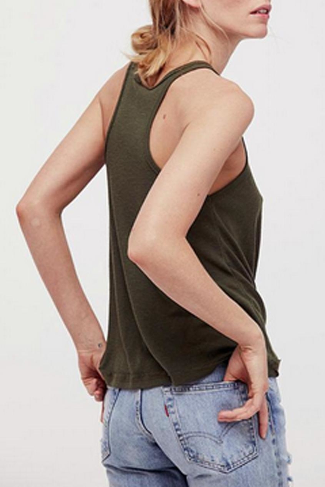 Free People Long Beach Tank - Front Full Image
