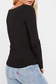 Free People Looking Back Top - Front full body