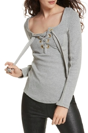 Free People Looking Back Top - Front cropped