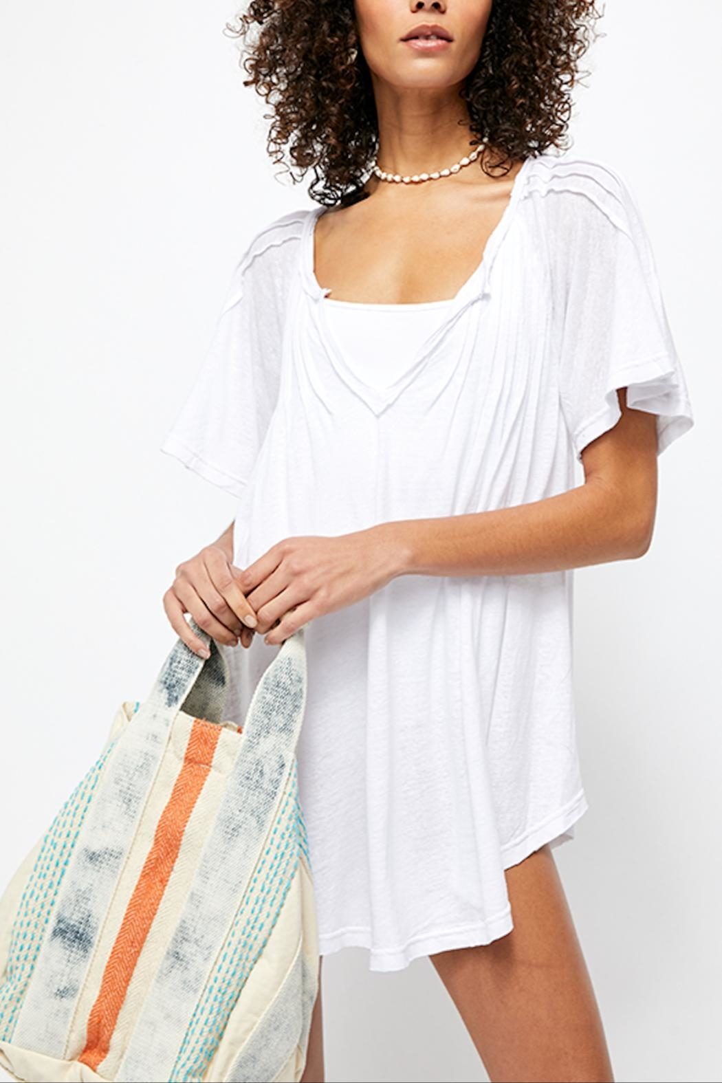 Free People Lovely Day Tee - Front Full Image