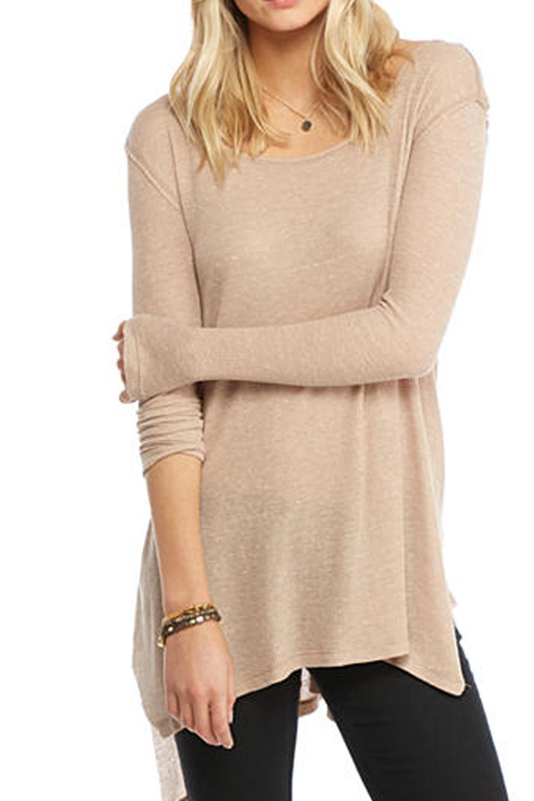 Free People Low Back Tee - Front Cropped Image
