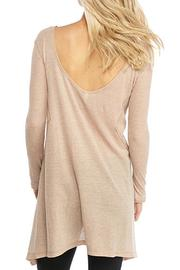 Free People Low Back Tee - Front full body
