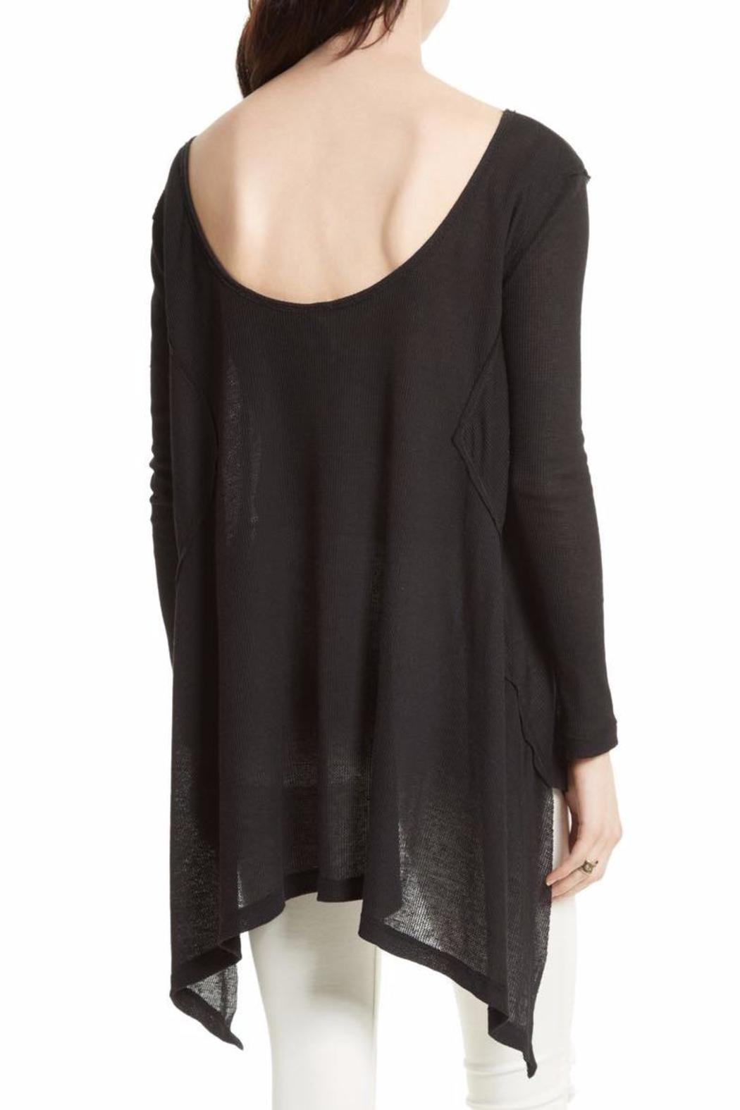 Free People Low Back Tee - Front Full Image
