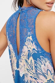 Free People Marsha Printed Slip - Back cropped