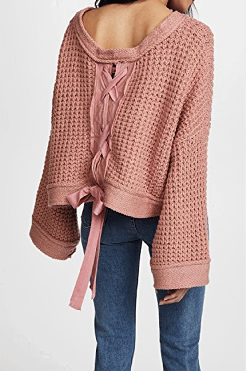 Free People Maybe Baby Sweater - Main Image