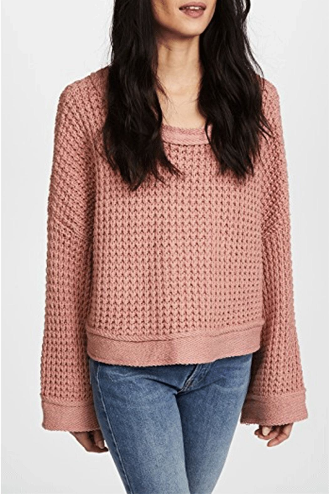 Free People Maybe Baby Sweater - Front Full Image