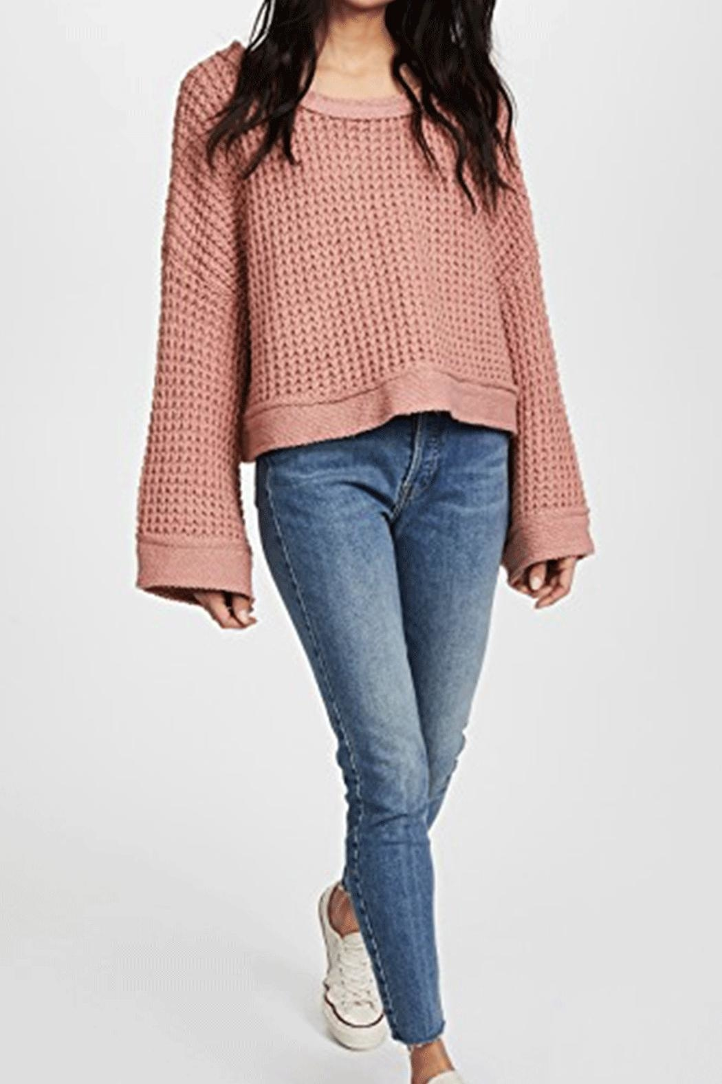 Free People Maybe Baby Sweater - Side Cropped Image