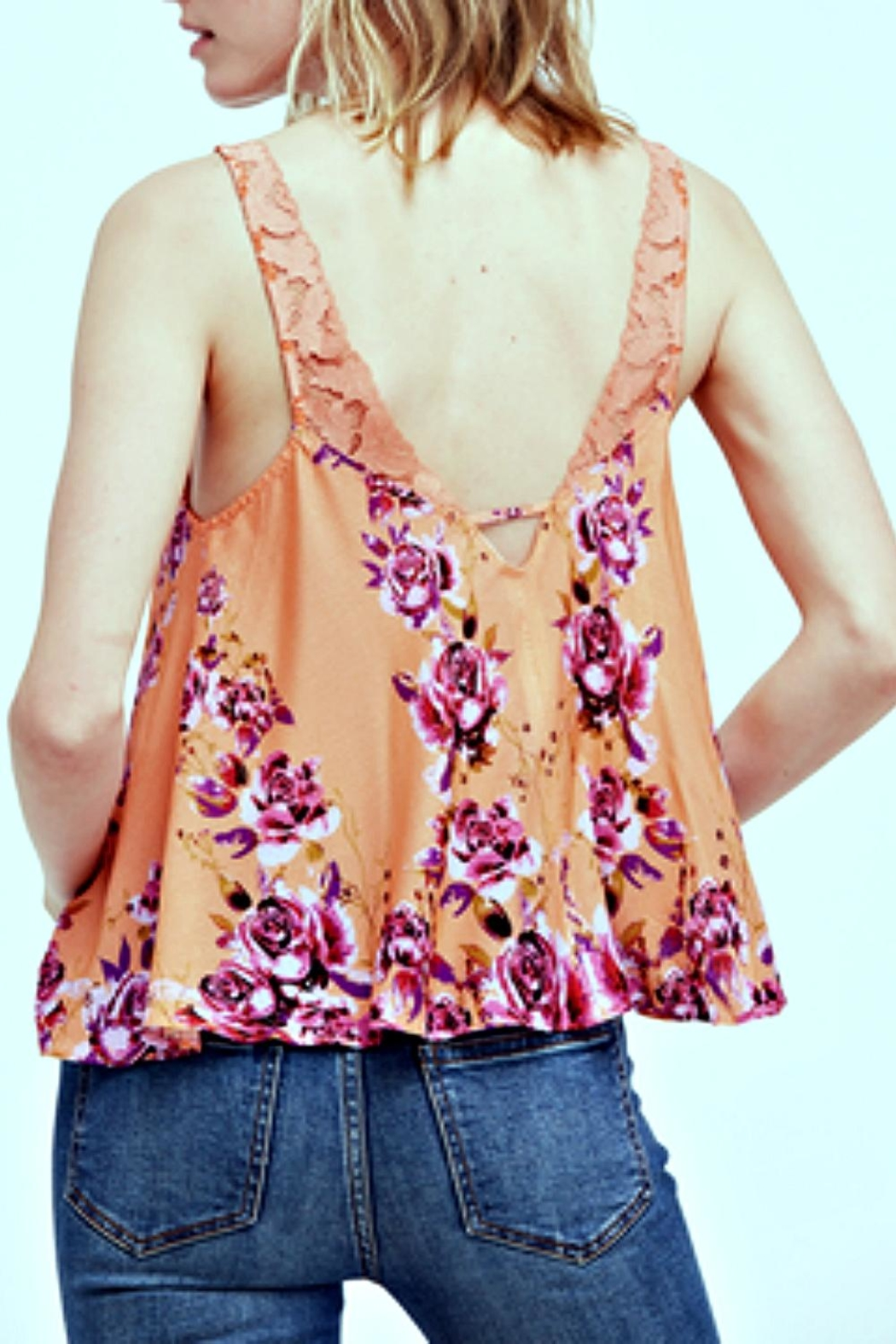 Free People Morning Rose Cami - Front Full Image
