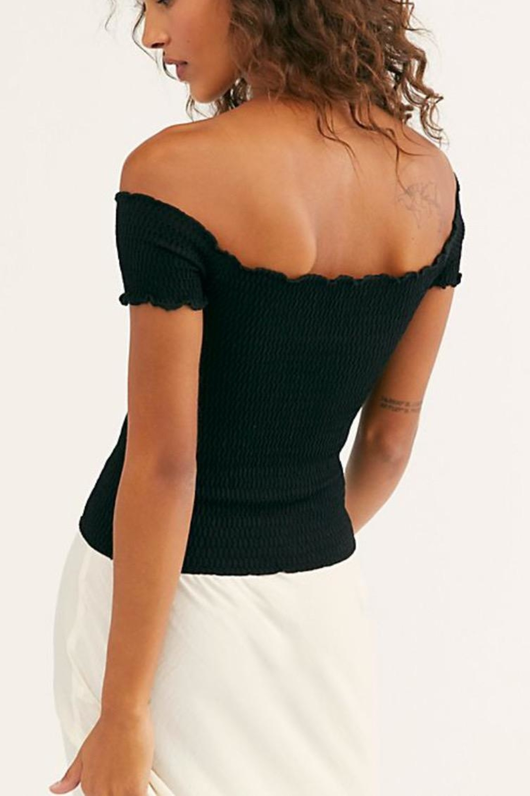 Free People Moulin Ruched Cami - Side Cropped Image