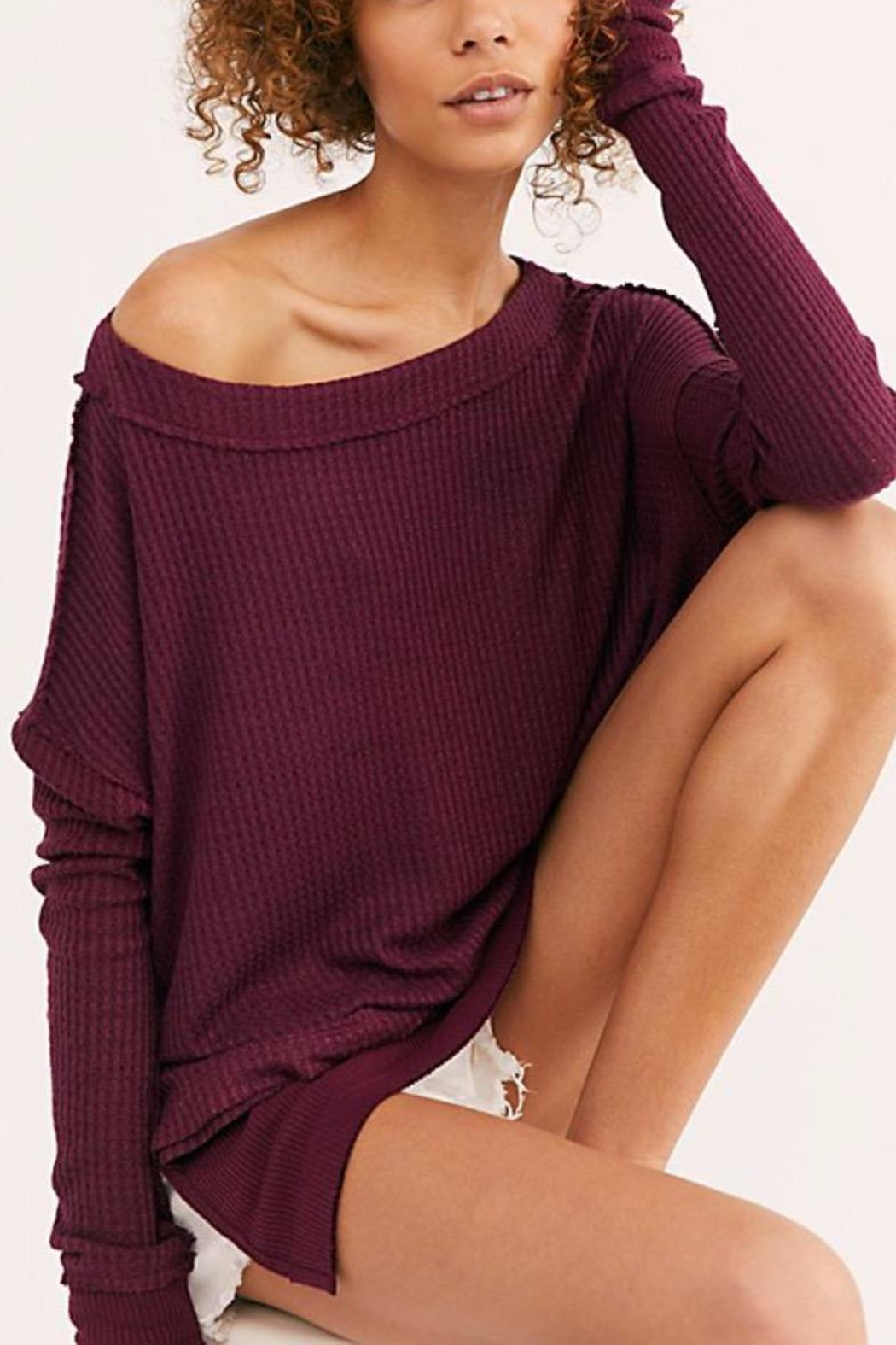 Free People North Shore Thermal - Side Cropped Image