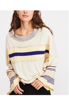 Free People Oatmeal Combo Sweater - Product List Image
