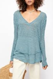 Free People Ocean Air Hacci Sweater - Product Mini Image