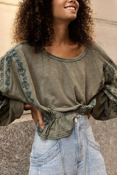 Free People Olive Tunic Top - Product List Image