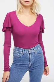 Free People On-Rewind Layering Top - Front full body
