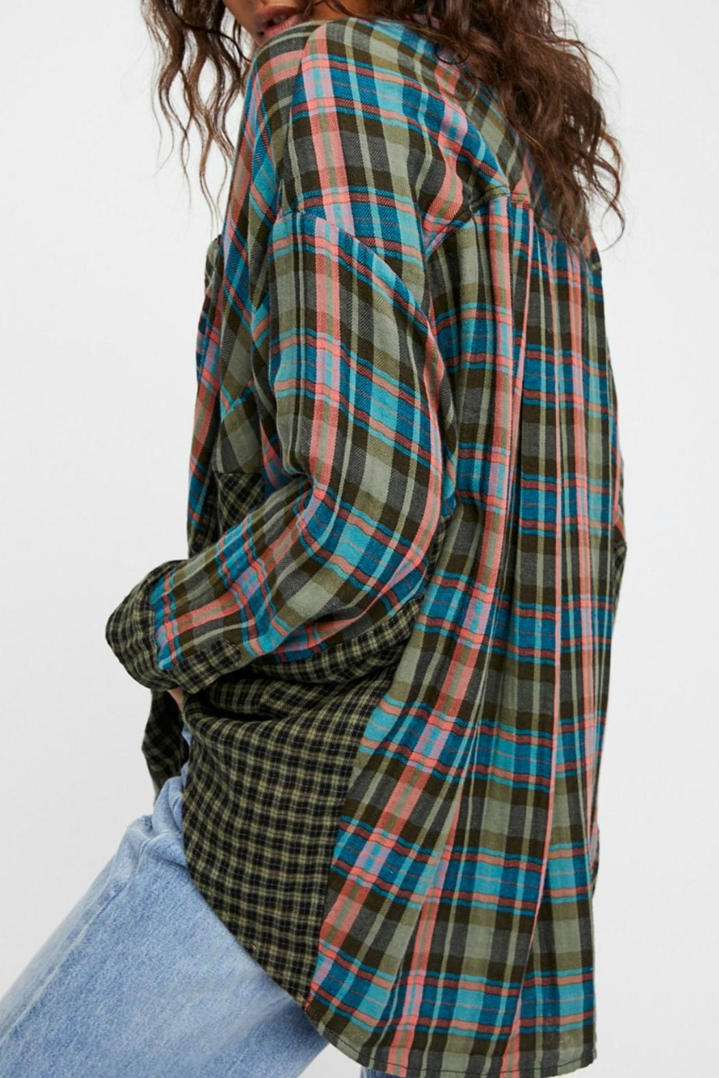 Free People One of The Guys Shirt - Front Full Image