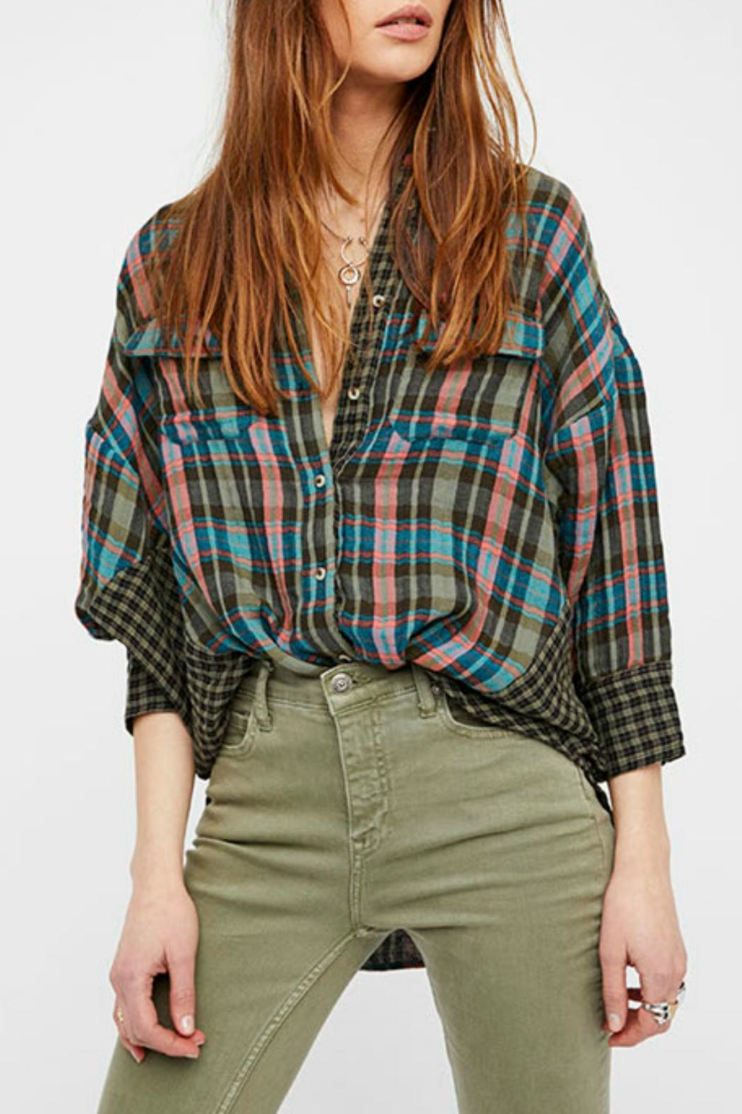 Free People One of The Guys Shirt - Main Image