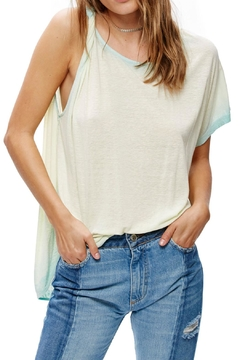 Free People One Shoulder Tee - Product List Image