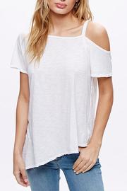 Free People Open Shoulder Shirt - Product Mini Image