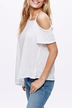 Shoptiques Product: Open Shoulder Shirt