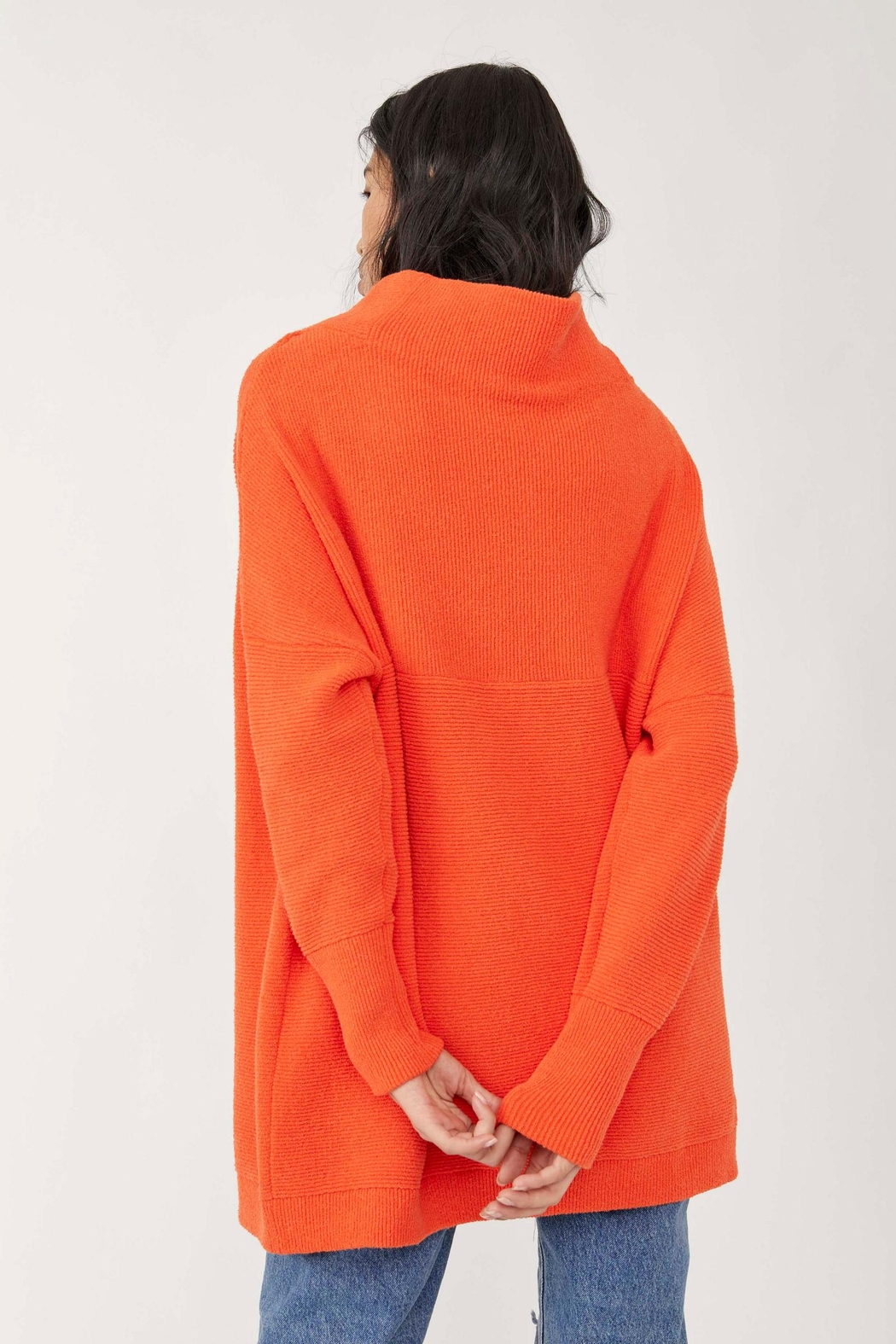 Free People Ottoman Slouchy Tunic - Audacious - Side Cropped Image