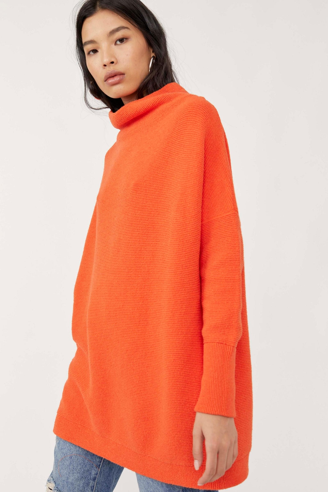 Free People Ottoman Slouchy Tunic - Audacious - Front Full Image