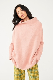 Free People Ottoman Slouchy Tunic - Dusty Pink - Front cropped