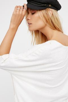 Shoptiques Product: Oversized Henley Tee