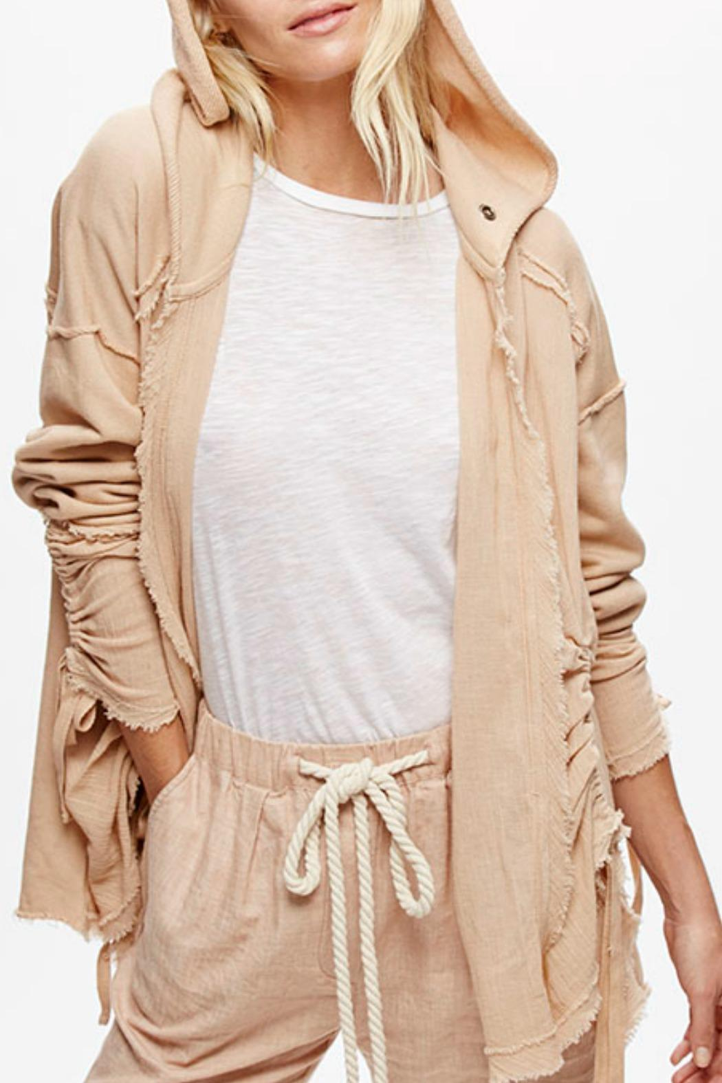 Free People Oversized Hooded Cardigan from New Jersey by Seagrass ...