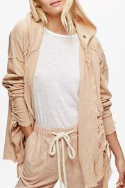 Free People Oversized Hooded Cardigan - Product Mini Image