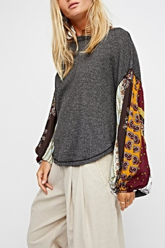 Free People Oversized Thermal Top - Product List Image